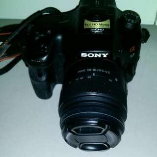 Sony A57 body + Sony 18-55mm