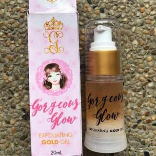 All in one miracle exfogold gel