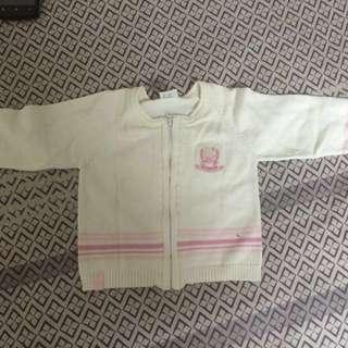 Sweater/baby cardigan
