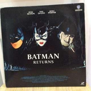Batman Returns Laser Disc (1992)