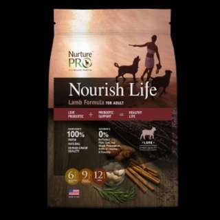 Nourish Life Holistic Lamb Dog Food 26lb