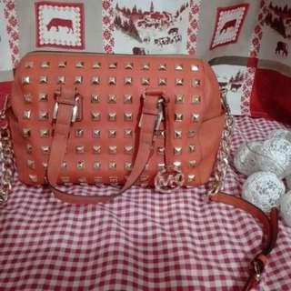 Michael Kors orange bag