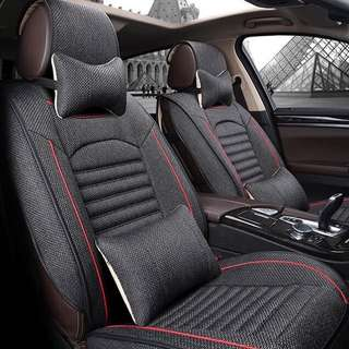 Car Seat Cover (New) Royal Black color