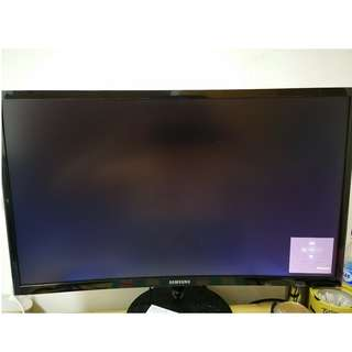 """23.5"""" Samsung Curved Monitor"""