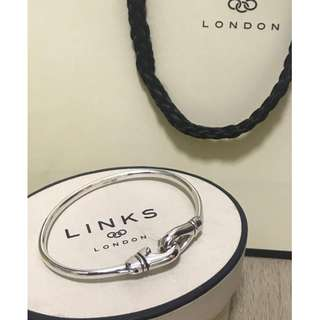 原價$1750 Links of London Essential Karabiner Bangle