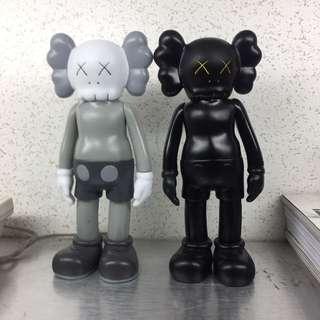 Kaws companion medicom toys