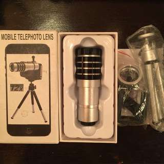 12X ZOOM CLIP LENS FOR PHONE (concert needs)