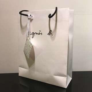 Agnes b紙袋連賀卡