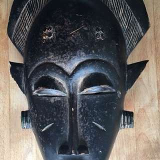 African mask from Ivory Coast