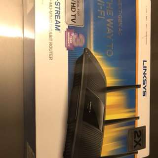 Linksys WiFi Router Max Stream AC1900+ Model EA7500