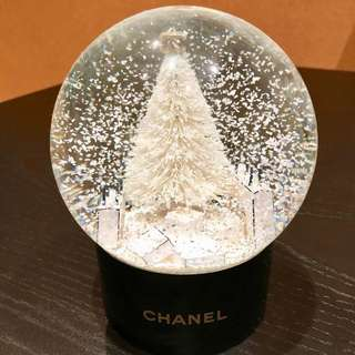 Chanel Snow Globe Dome VIP Gift