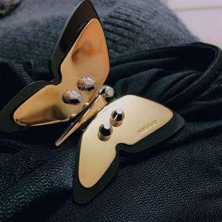 Gucci 蝴蝶扣針上衣