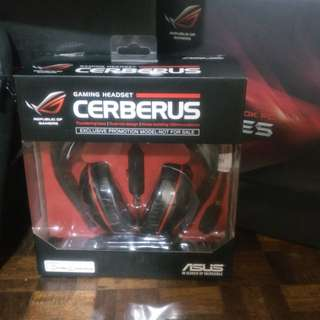 Asus cerberus gaming head set #hello2018