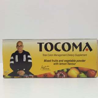 Tocoma Total Colon Management Dietary Supplement