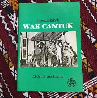 Wak Cantuk Novel Melayu