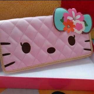 Hello Kitty長銀包[粉紅]
