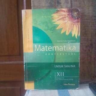 Buku Lama : Matematika kontekstual untuk SMA
