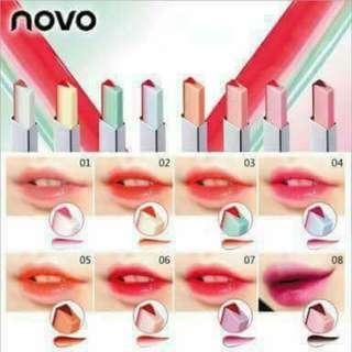 Two tone liner lipstick