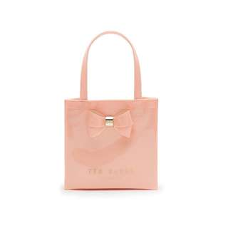 Ted Baker - Peach Pink Didicon Bow Detail Small Shopper Bag