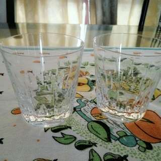 Crystal drinking ware