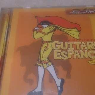 Spanish guitar music cd