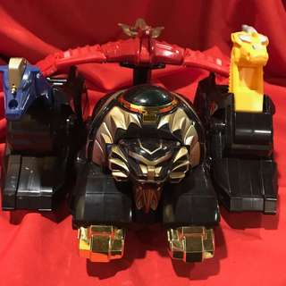 Mighty Morphin Power Rangers Thunderzord Assault Team 1994 Authentic Bandai