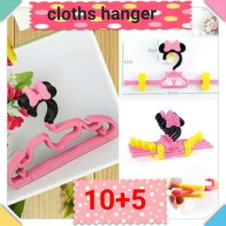 Kids children clothes hanger (1set) - COD
