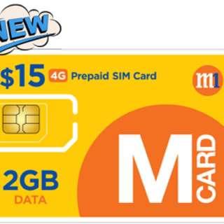 Prepaid SIM Card [$15 4G Prepaid]