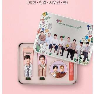EXO X NATURE REPUBLIC NEW GOODS / Moisturising Moisture Special Edition