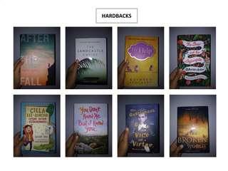 Hardback Books in English