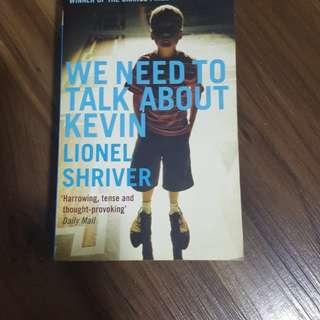 We need to talk about Kevin / Lionel Shriver