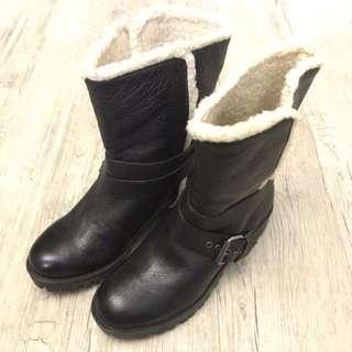🚚 【N17156】Nine West 內刷毛中靴