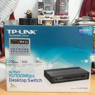 TP-Link TL-SF1016D 16-Port 10/100M Desktop Switch