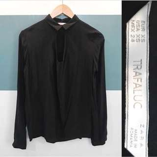Zara Chest cut-out blouse