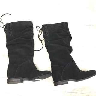 🚚 【N17157】Nine West 麂皮長靴