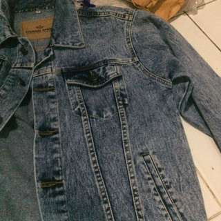 Jacket Denim 13.5 oz baru