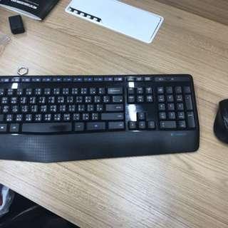 Logitech keyboard & mouse set