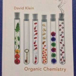 Organic Chemistry by David Klein