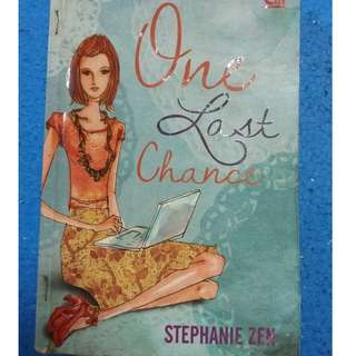 One Last Chance - Stephanie Zen