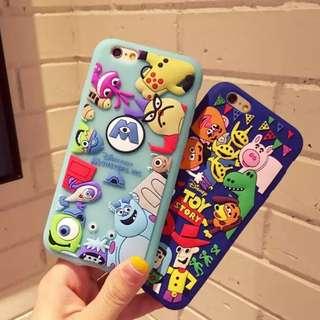🚚 玩具總動員/怪獸大學 Toy Stories iPhone 5/6/6s/plus/7/7plus/8/x手機殼