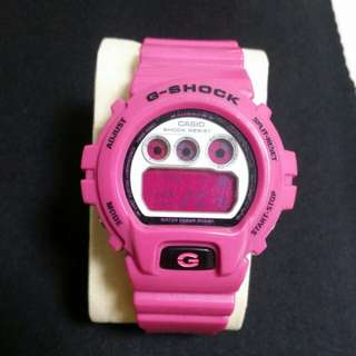 CASIO  G-SHOCK  桃紅色