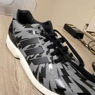 Adidas ZX Flux - Black and Grey colourway