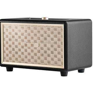 Bluetooth Speakers, Retro Go Wireless Speaker with 24W Audio Output, Enhanced Bass and 4 Hours Playtime