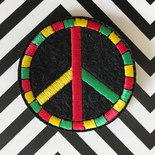 Bn peace iron/sew on patch