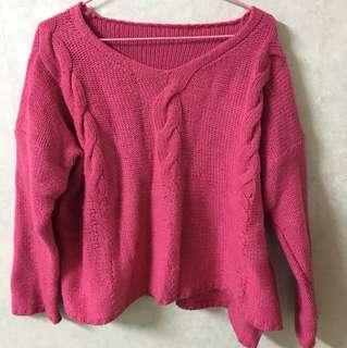 毛衣 粉紅