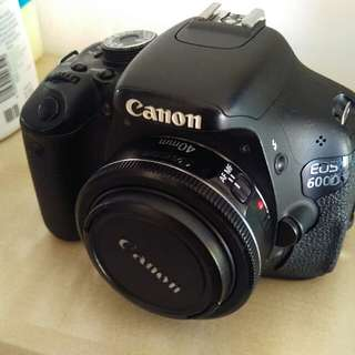 Canon 600d body only with box
