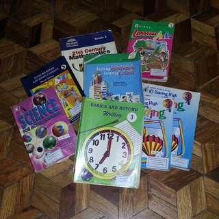 Assorted Elementary Books (Grade 3) BUNDLE