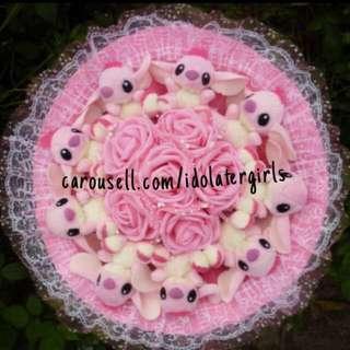 2018 Valentine's Day Stitch Flower Bouquet