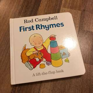 Rod Campbell First Rhymes