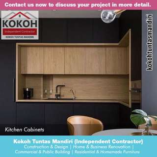 Kitchen Cabinets KF-KC07 [Made To Order] Yogyakarta